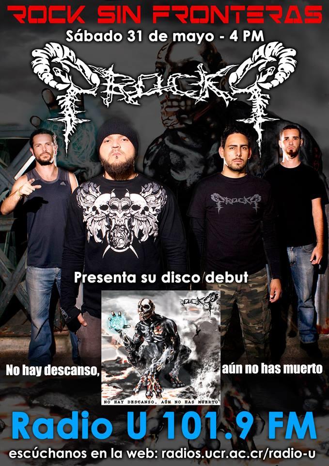 PROCKQ presenta su disco debut en ROCK SIN FRONTERAS